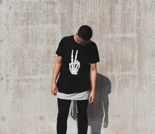 The T-shirt becomes the most original piece of clothing
